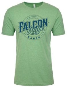 Falcon Ridge Screen Printed T-Shirtted T-Shirt