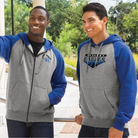 College students wearing best selling hoodies
